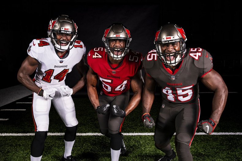 New Bucs Uniforms Unveiled | Pewter Report