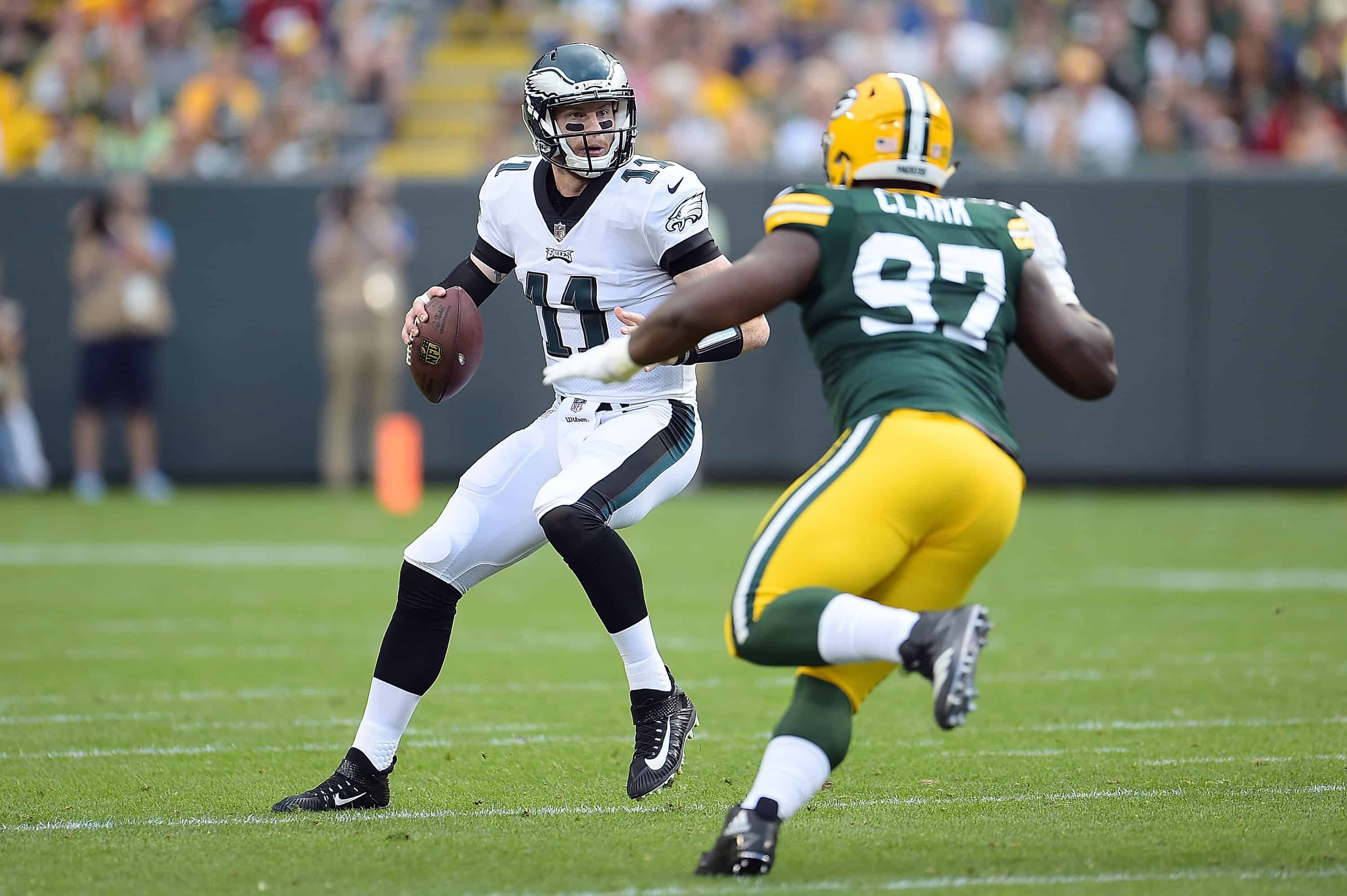 Eagles Vs Packers Fantasy Football Worksheet Week 4