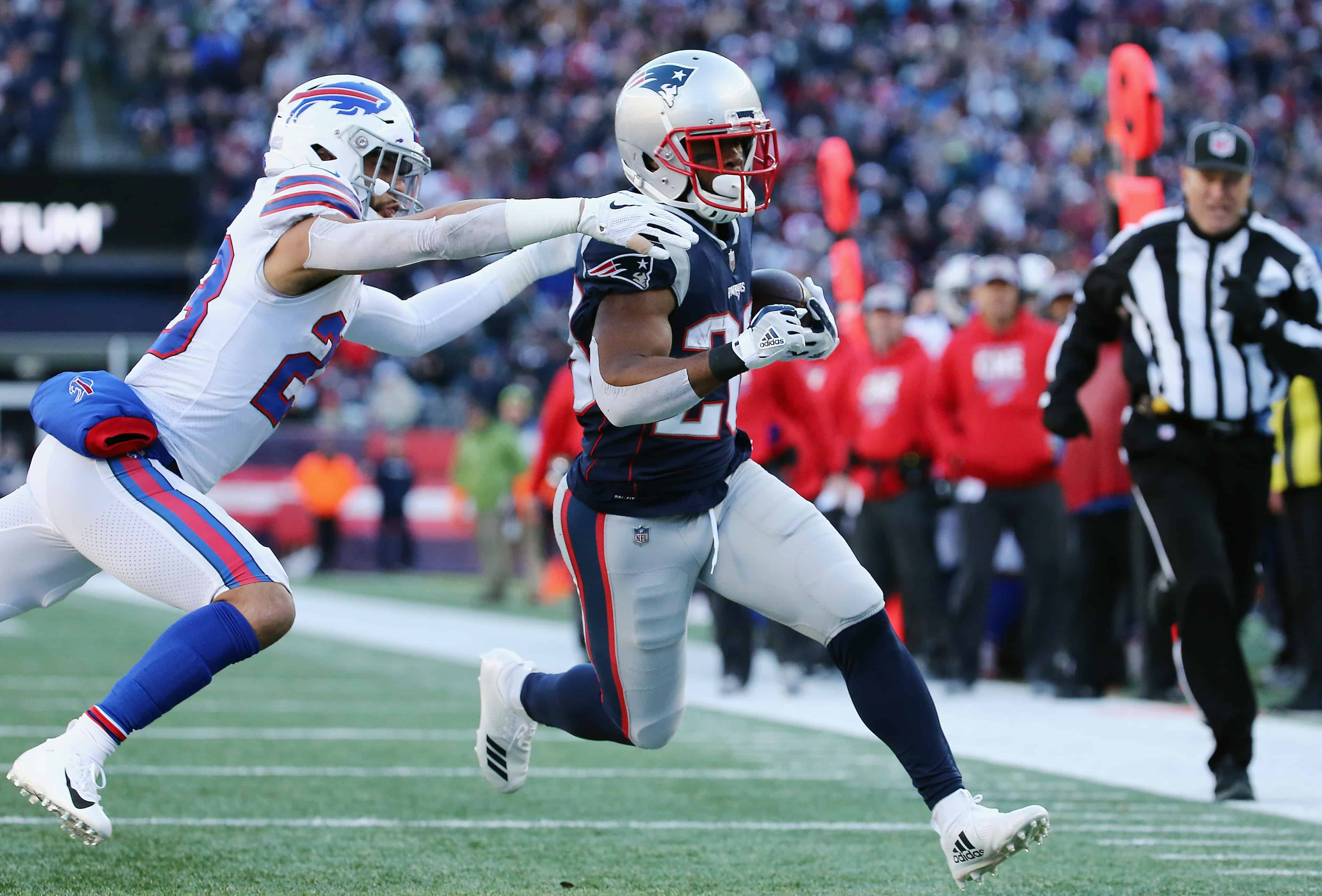 Patriots Vs Bills Fantasy Football Worksheet Week 4