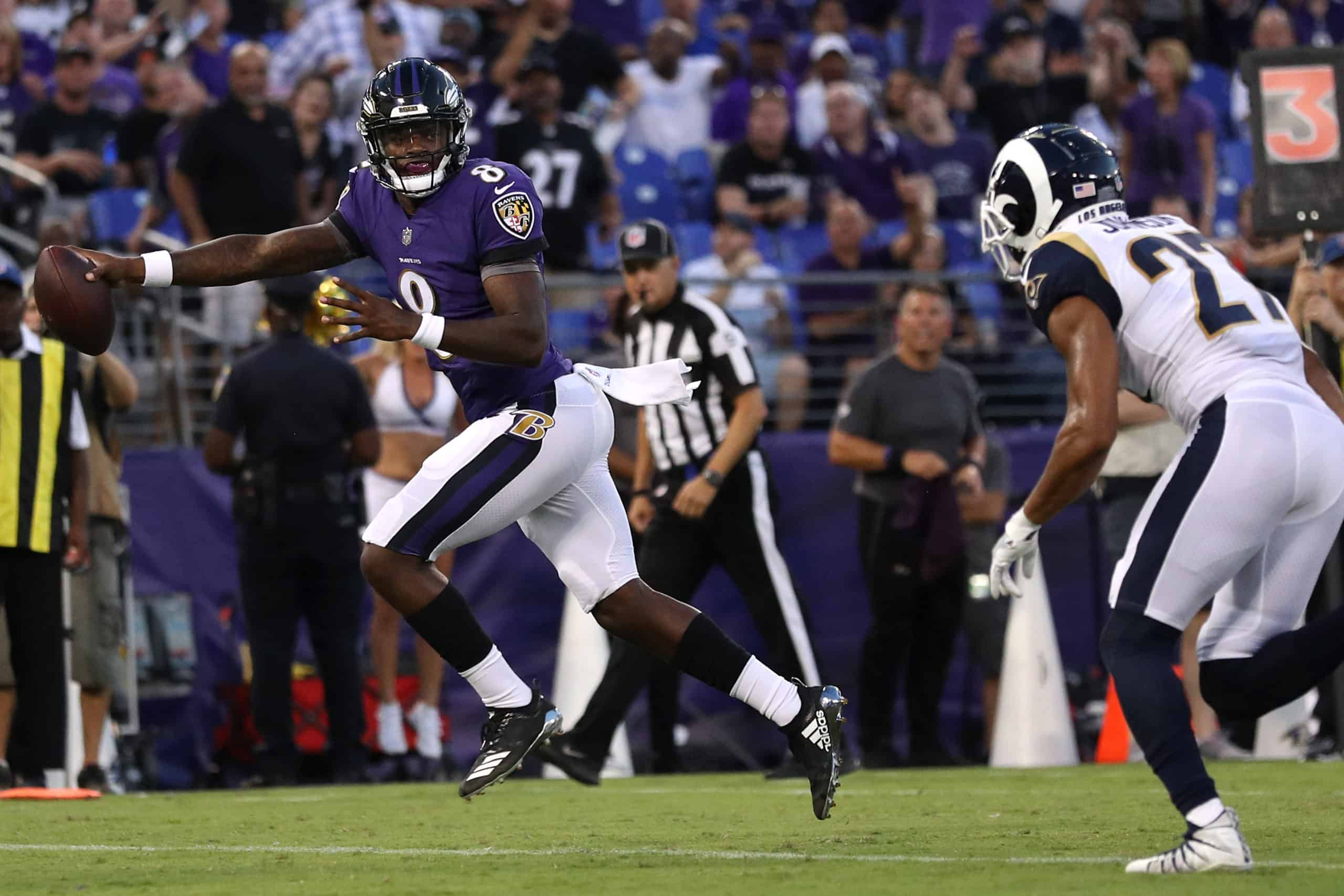 Ravens Vs Rams Fantasy Football Worksheet Week 12