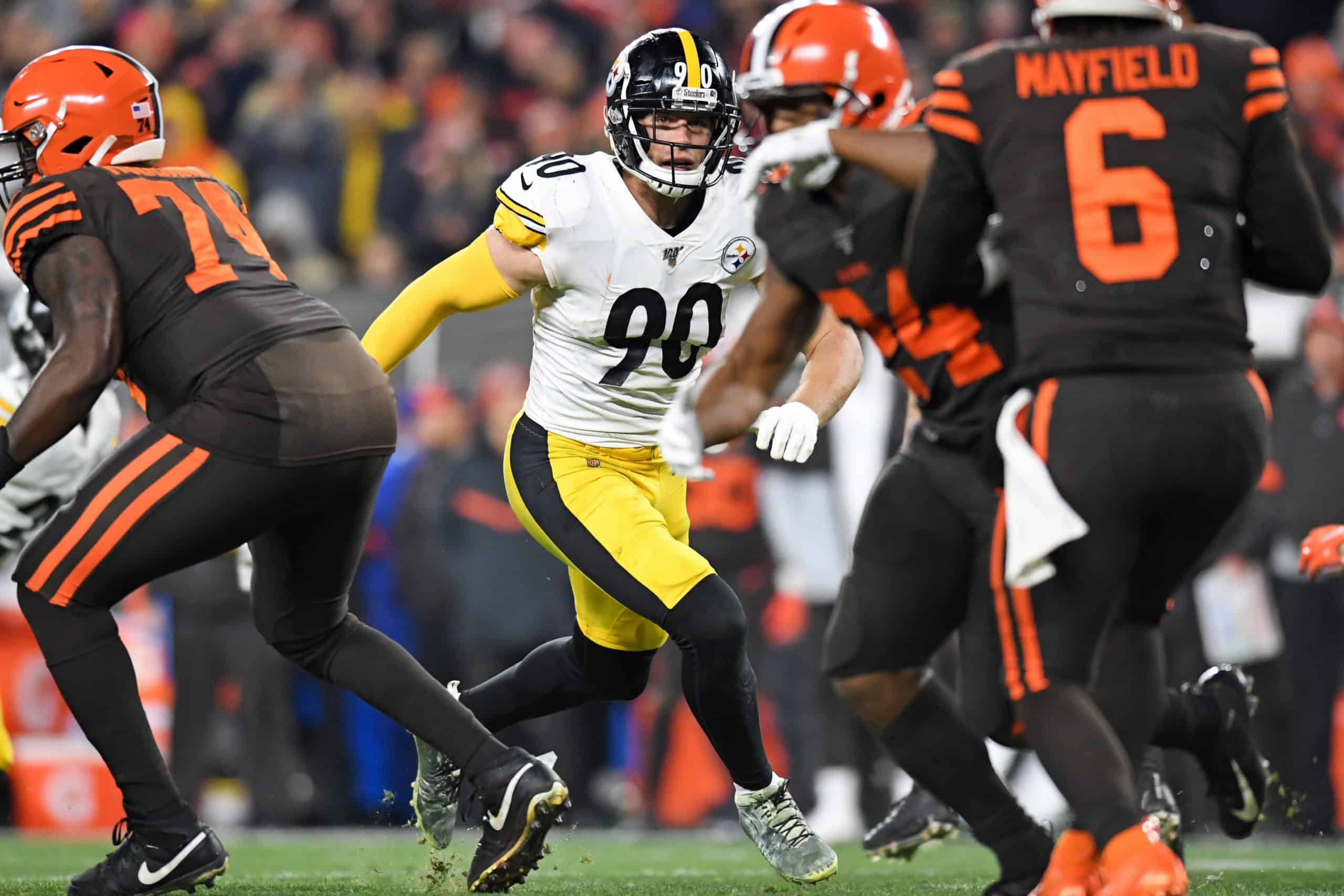 Browns Vs Steelers Fantasy Football Worksheet Week 13