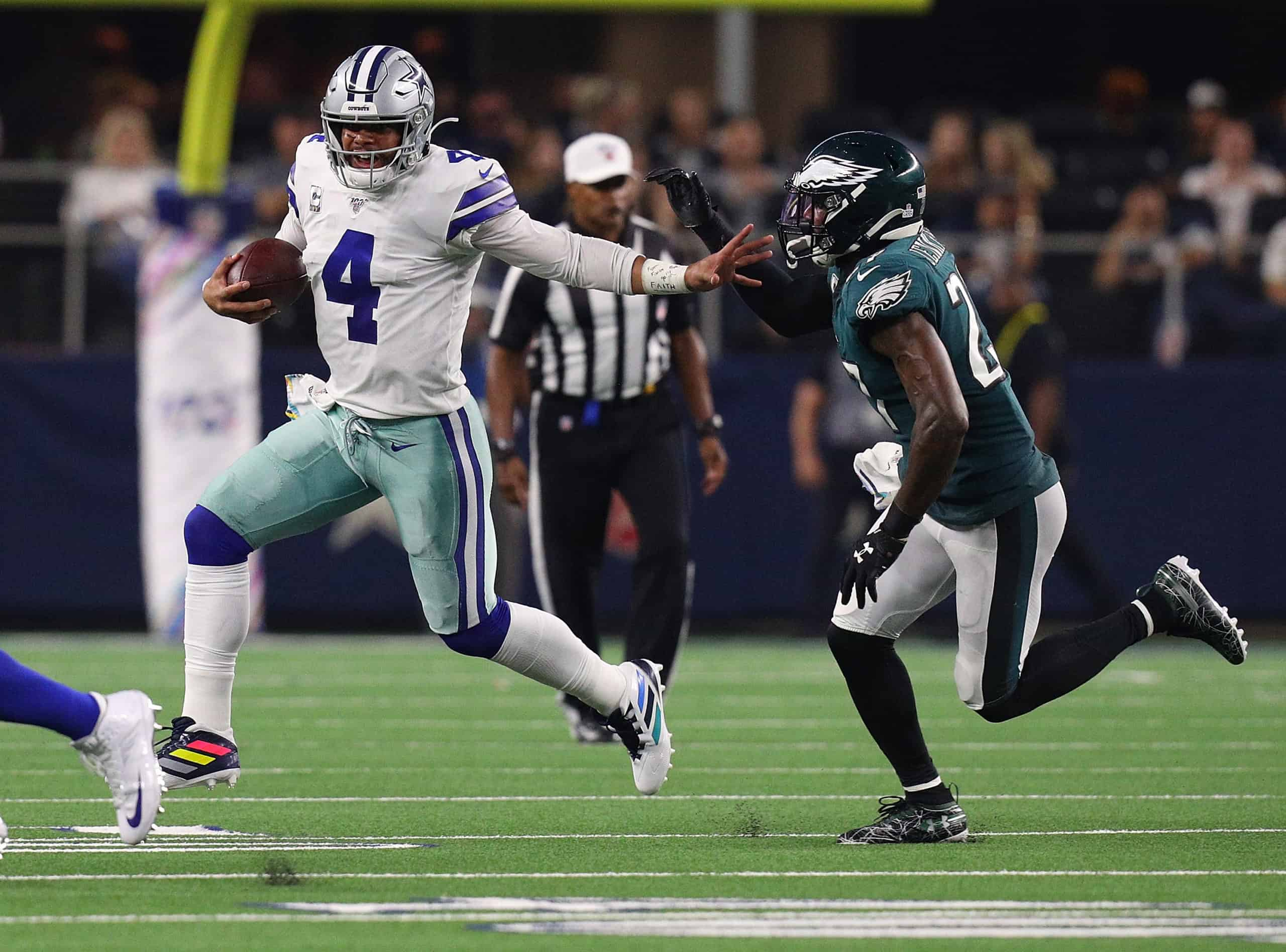 Cowboys Vs Eagles Fantasy Football Worksheet Week 16