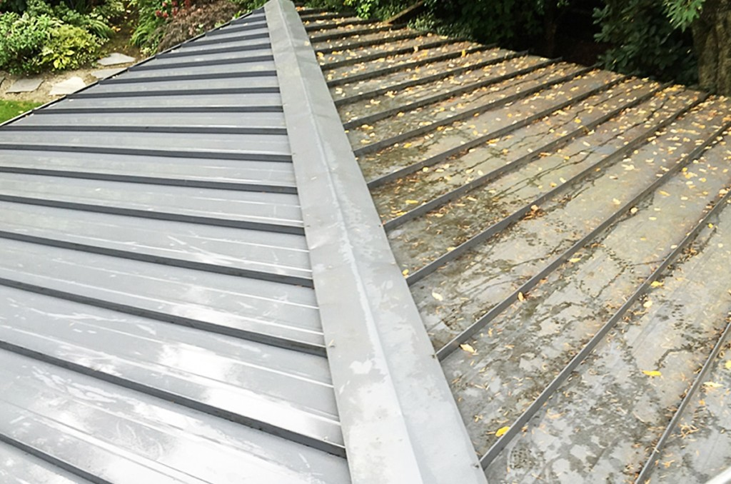 Cleaning A Painted Metal Roof System How To Best Methods