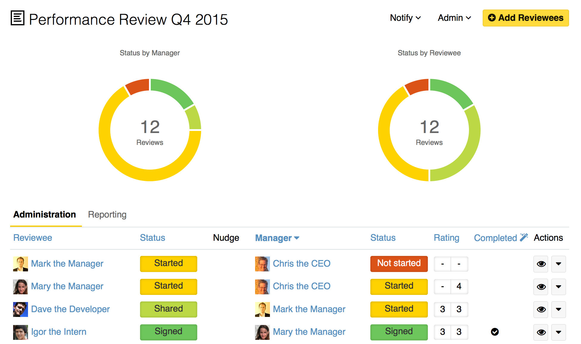Small Improvements Performance Review Software 360s