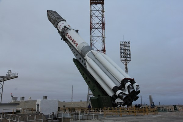 Proton liftoff delayed by upper stage problem ...