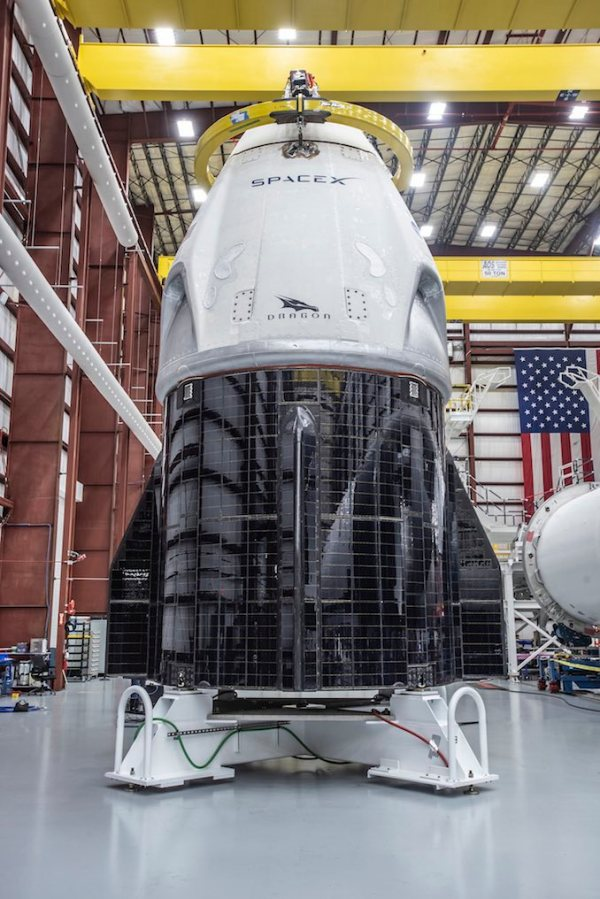 Falcon 9 rocket fires engines in key test ahead of Crew ...
