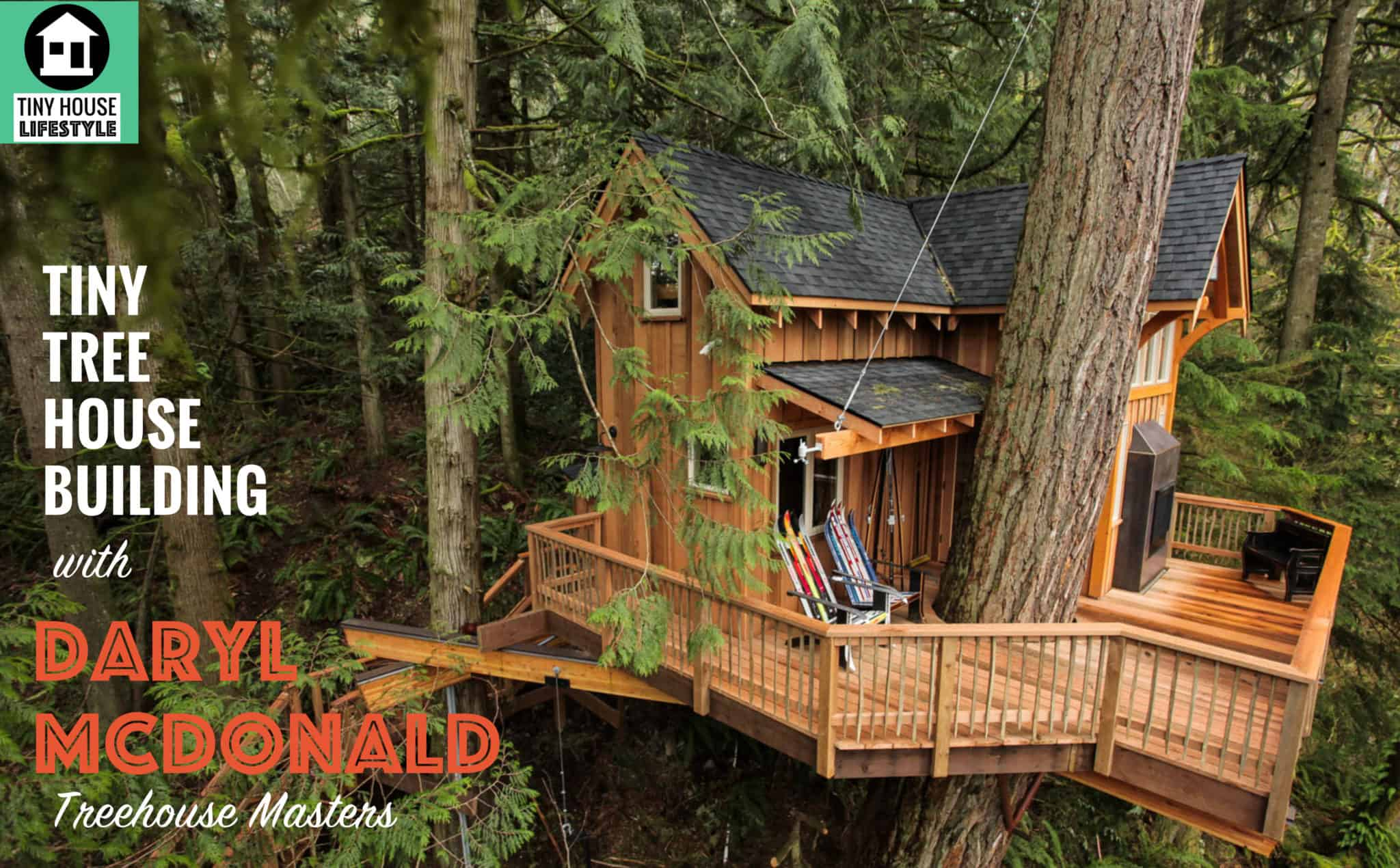 Build A Tiny House In The Trees With Treehouse Masters Daryl Mcdonald 036 The Tiny House