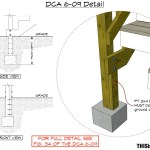 Bottom Stair Post And Stringer Deck Connections Thisiscarpentry