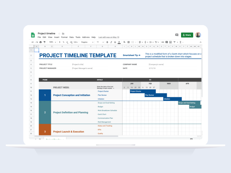Delete all assignment instructions.,but keep the worksheets and tables. 50 Of The Best Free Google Sheet Templates For 2021