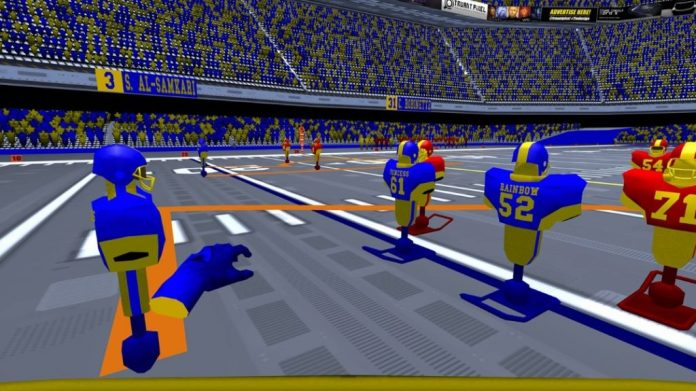 2md vr football quest screenshot gameplay 3
