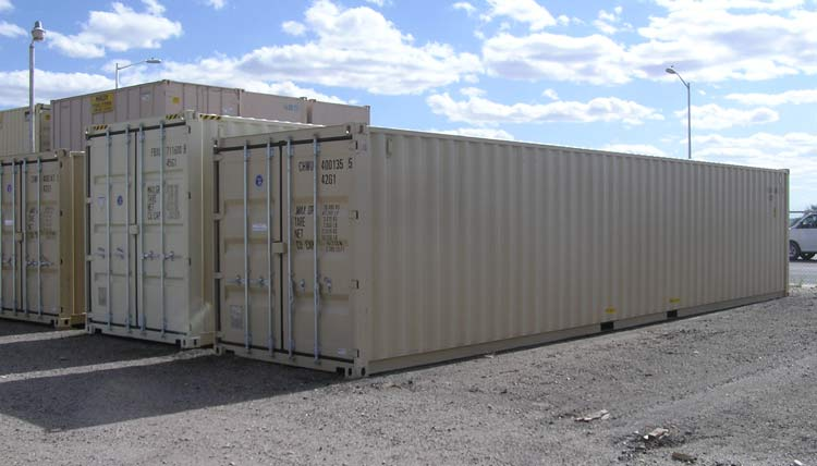Different size storage containers