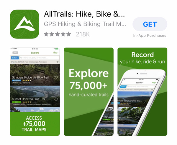 All-trails-app Wellness Apps