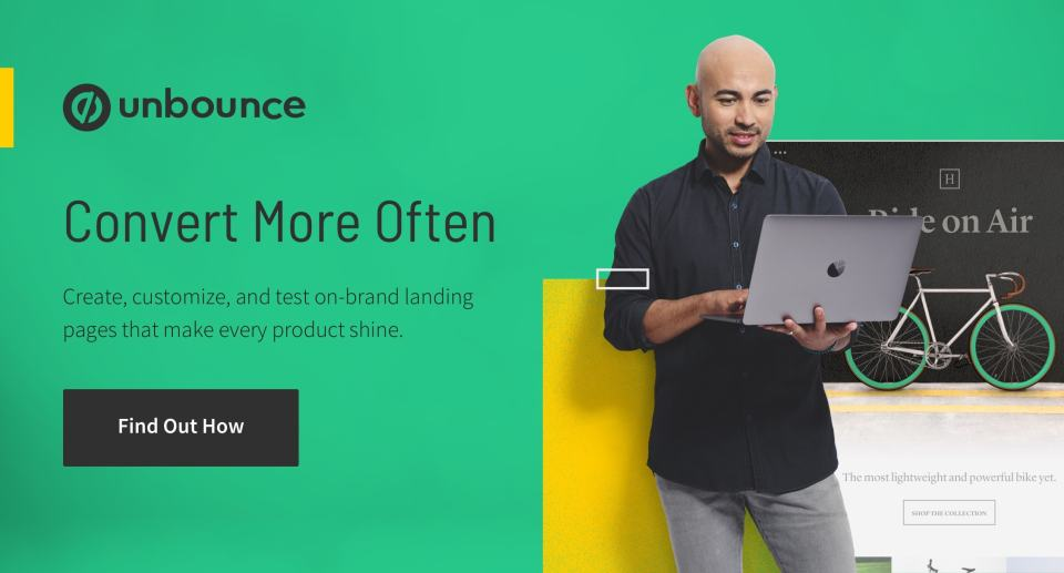 Ecomm landing pages