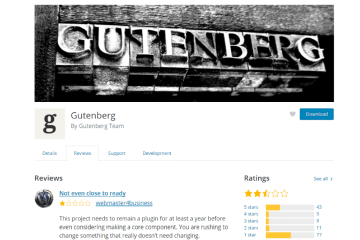 WordPress Guttenberg
