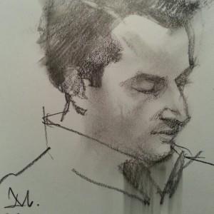 Sketch by Greg Manchess