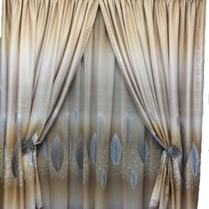 Luxury Jacquard Curtain Set