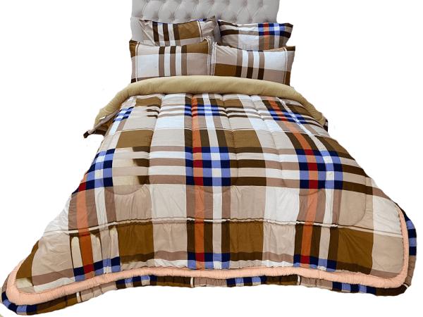 5 Piece 200GSM Microfibre Comforter Set6