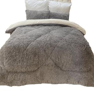 fluffy comforter