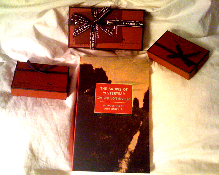 truffle assortments; book