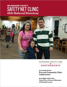 Cover of the 2021 Safety Net Clininc Directory. Clicking on the image allows user to download the PDF document.