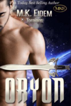 Oryon - Book 5 of the Tornians Series by MK Eidem