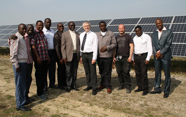 Kenyan MPs visit the