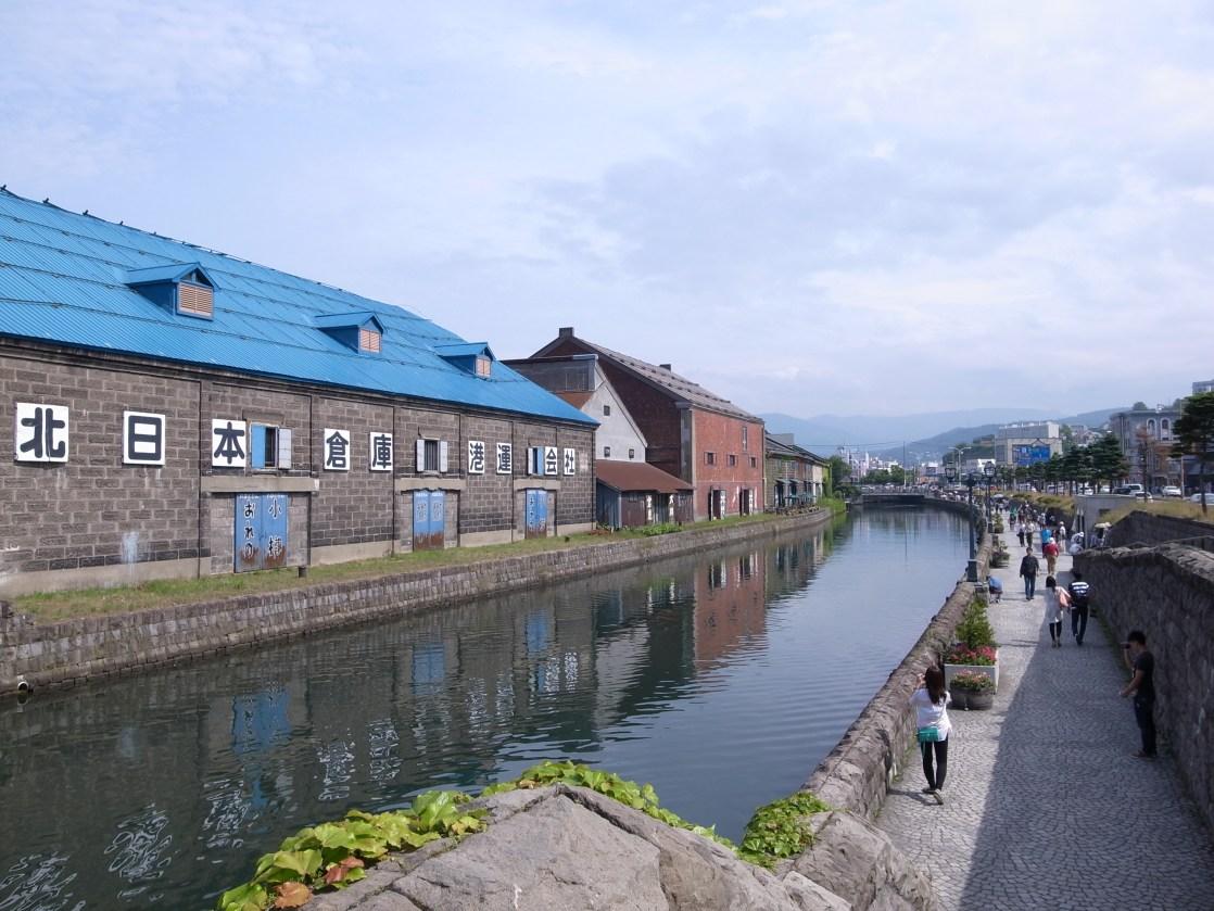 小樽運河と倉庫