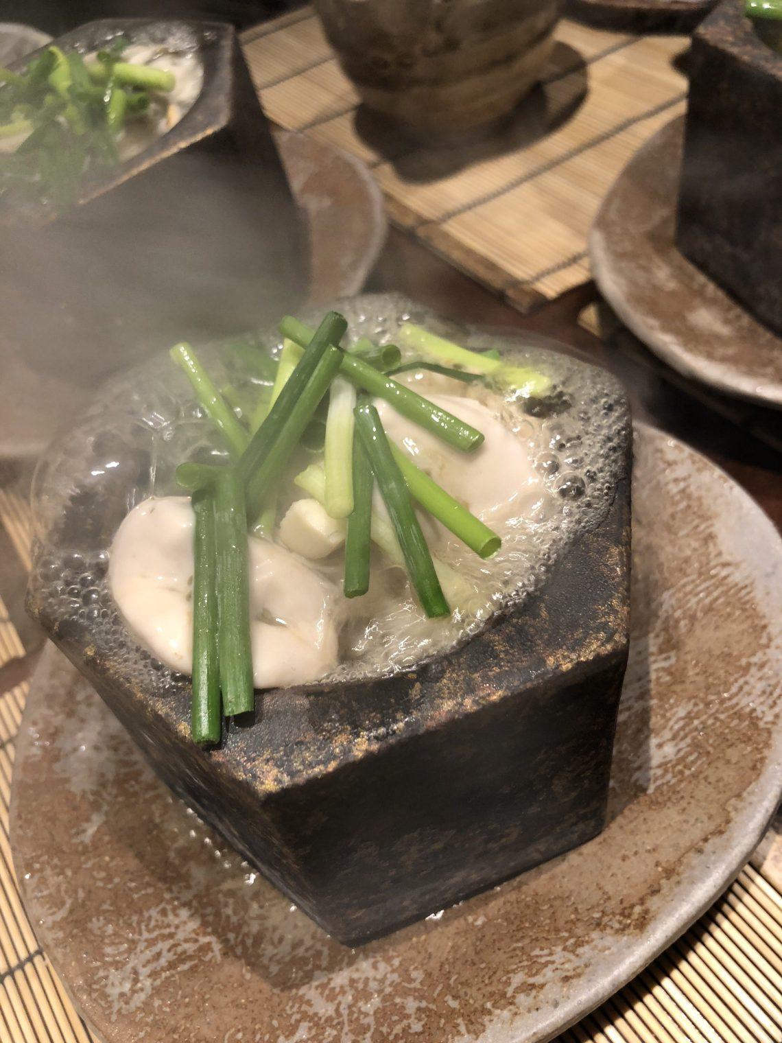 牡蠣のだし煮
