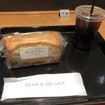 DEAN & DELUCA CAFE@日比谷。