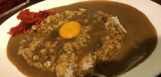 大阪マドラスカレー with 生たまご