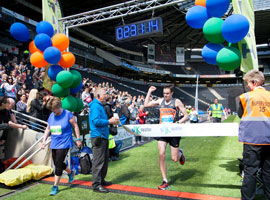 Runners triumph at the 5th MK Marathon