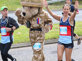 Run the MK Marathon and raise money for Charity