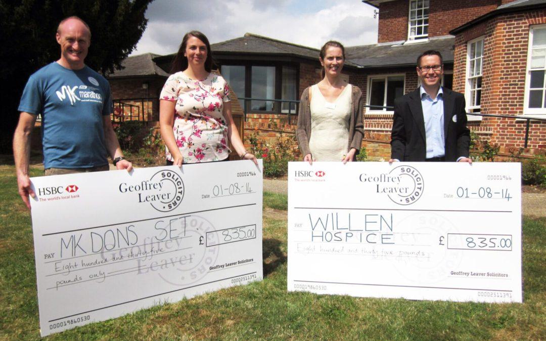 Be Part of Milton Keynes' Top Team Running Challenge