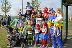 MK MARATHON SUPERHERO FUN RUN!