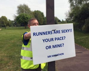 MK Marathon Runners Are Sexy Sign
