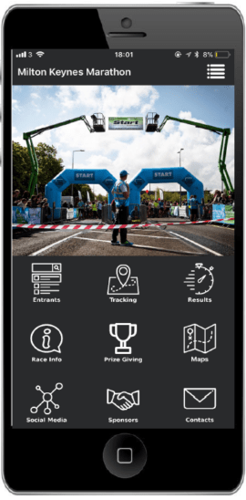 MK Marathon Mobile App