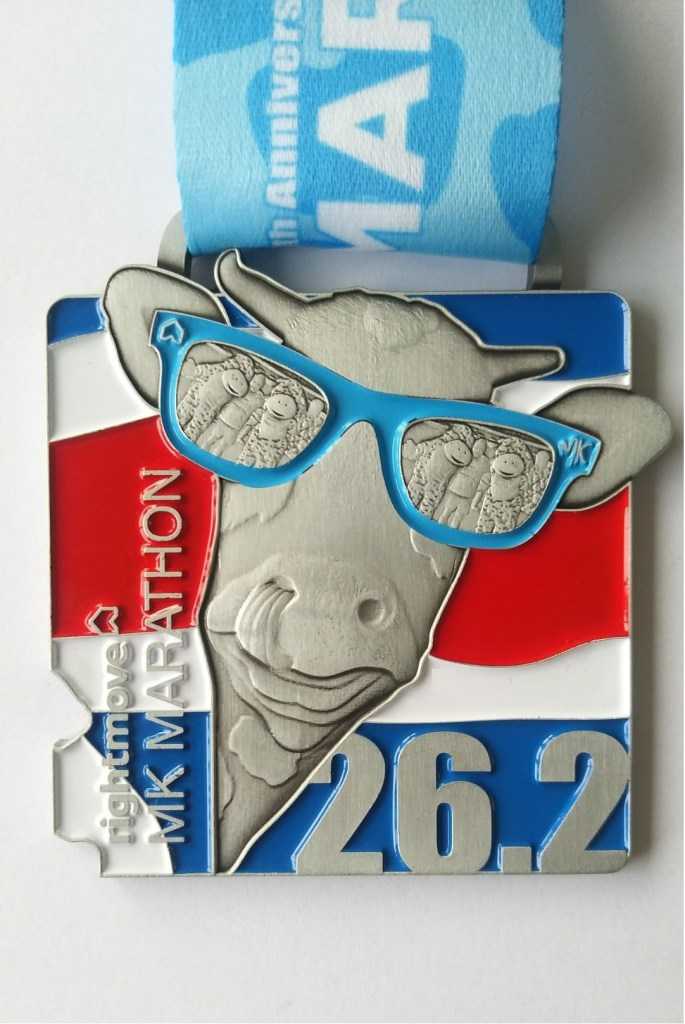 Rightmove MK Marathon 10th Anniversary Medal 2021