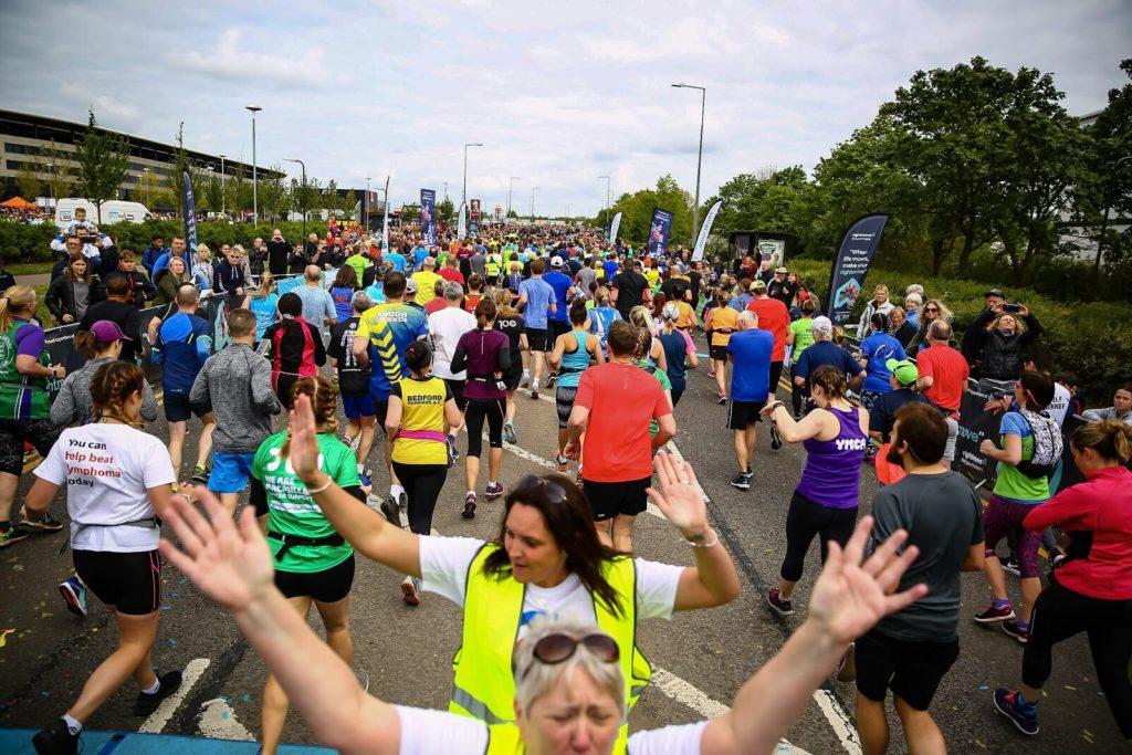 MK Marathon Start