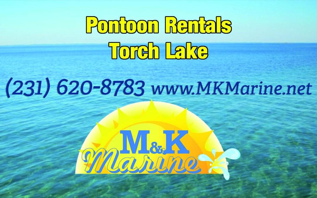 Torch Lake Pontoon Boat Rentals
