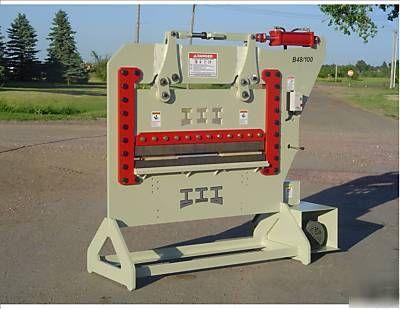 "50"" iroquois press brake, 100TON, usa job shop package"