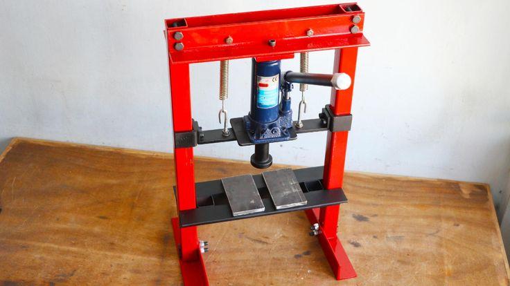 Homemade Hydraulic Press Machine || Hydraulic Press