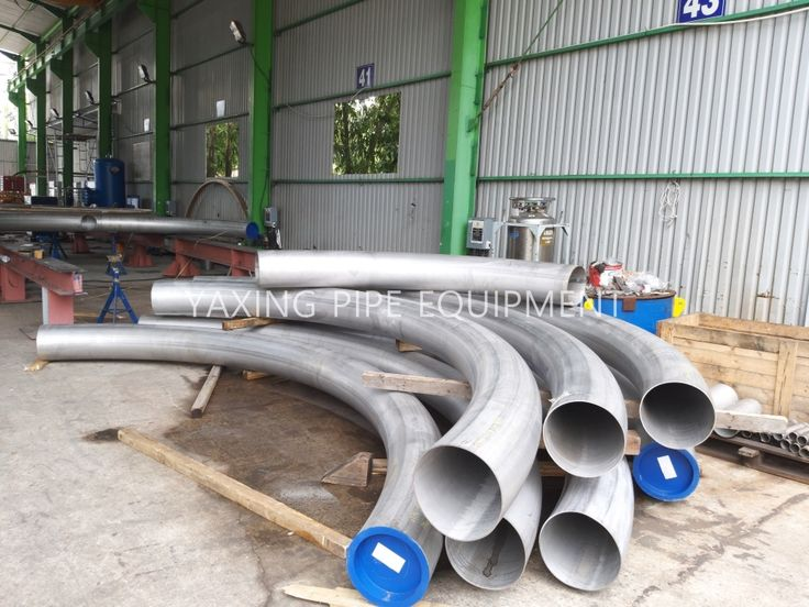 steel pipe bends forming and production