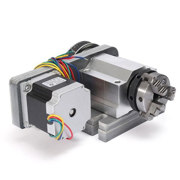 Machifit CNC Router Rotational Rotary Axis CNC Machine Accessory Tailstock for 4th-Axis