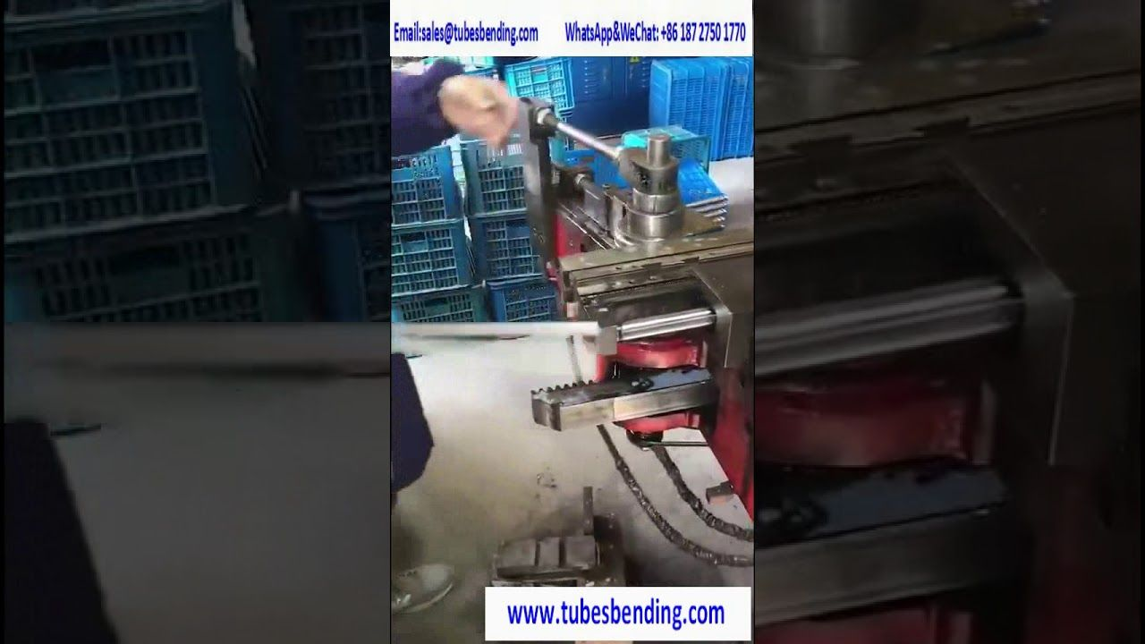 Stainless Steel Tube Bending Machine with Multiple Tube bending mold bend at same time