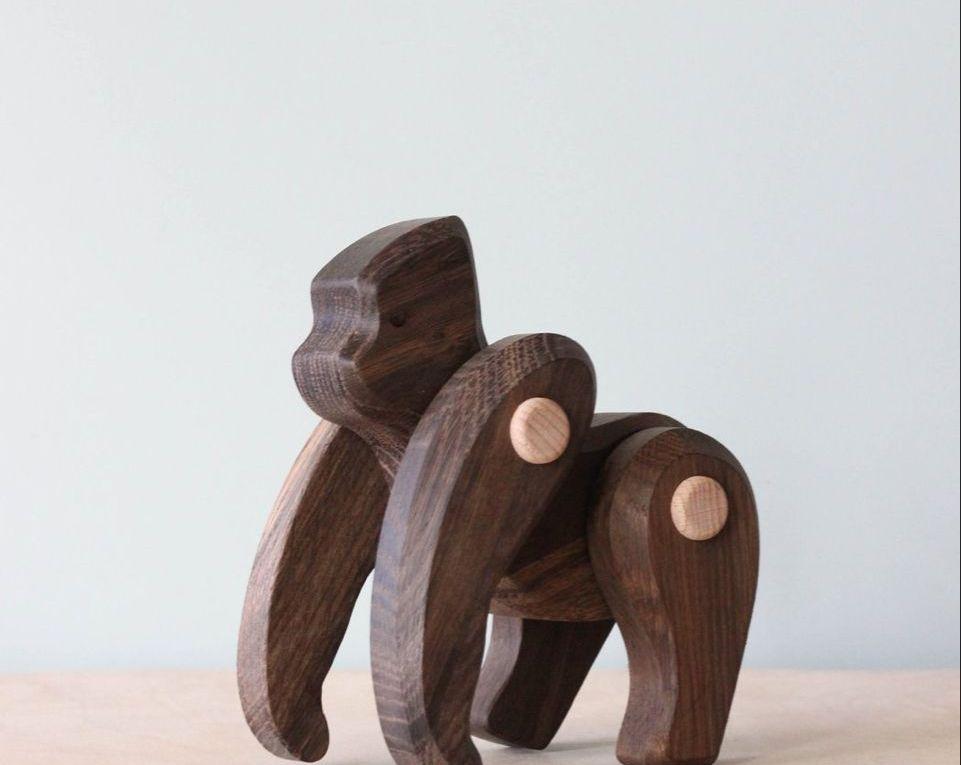 Wooden Gorilla