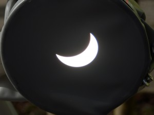 Partial Solar Eclipse, Milton Keynes, 20th March 2015