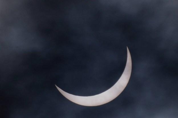 Partial Eclipse 20 March 2015