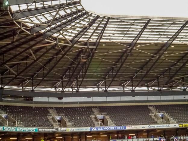 Peregrine Platform at Stadium MK ©Sue Hetherington 28 April 219