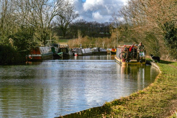 Grand Union Canal by Peter Hassett