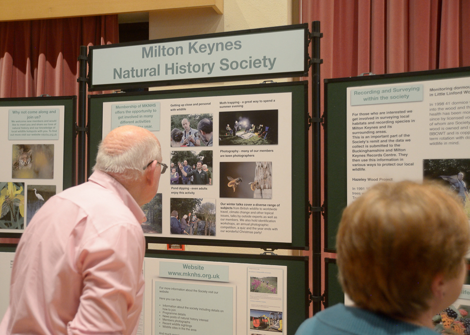 There was a lot of interest in our display boards